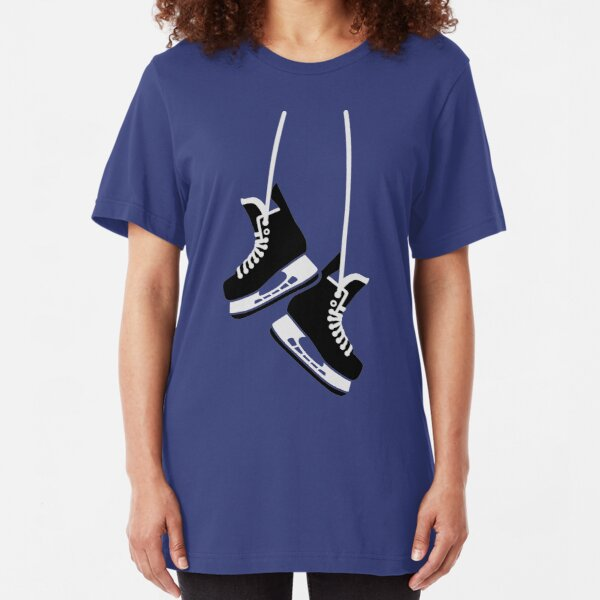Hockey skates Slim Fit T-Shirt