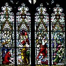 A window in Beverley Minster, Yorkshire by Bev Pascoe