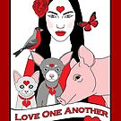 Love One Another by Lisa Vollrath
