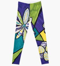 A Bloom in My Imagination by Lilia Leggings