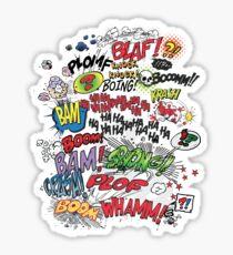 Comics Elements Sticker