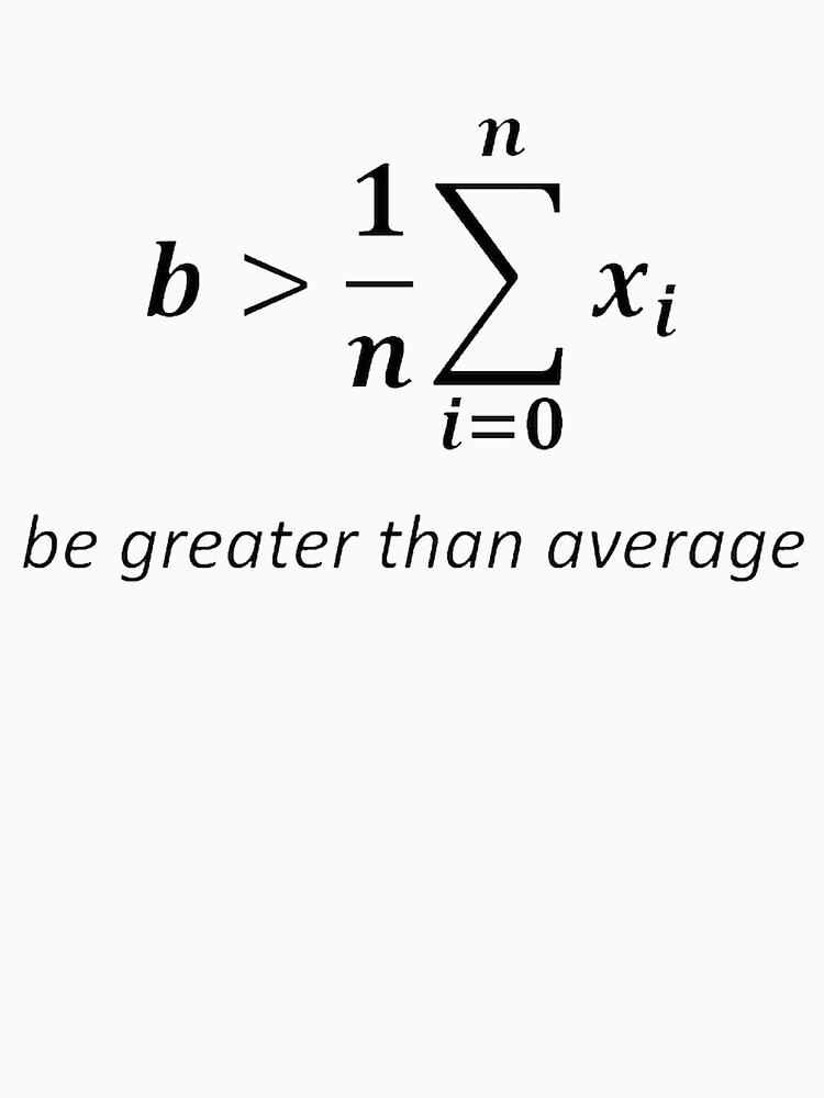 Sei größer als der Durchschnitt von Raven2103