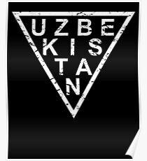 Stylish Uzbekistan Poster