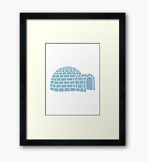 Igloo Framed Print