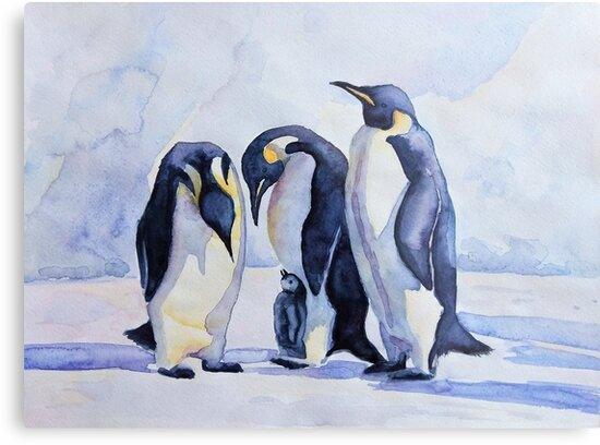 penguin penguins by ElenaArt