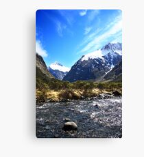 Fiordland National Park Canvas Print