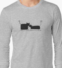 Couple cats Long Sleeve T-Shirt