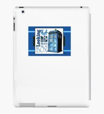 Looking 4A Mad Man In A Box iPad Case/Skin