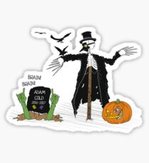 Villaindar. Marty Scurll. October Sticker