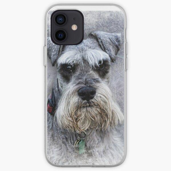 Serious Schnauzer iPhone Soft Case