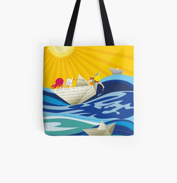 Summer Stories All Over Print Tote Bag