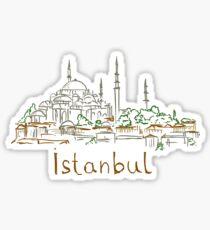 Istanbul Panorama Sticker