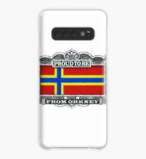 Proud To Be From Orkney Case/Skin for Samsung Galaxy