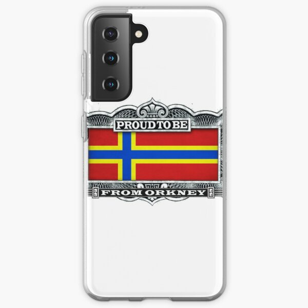 Proud To Be From Orkney Samsung Galaxy Soft Case