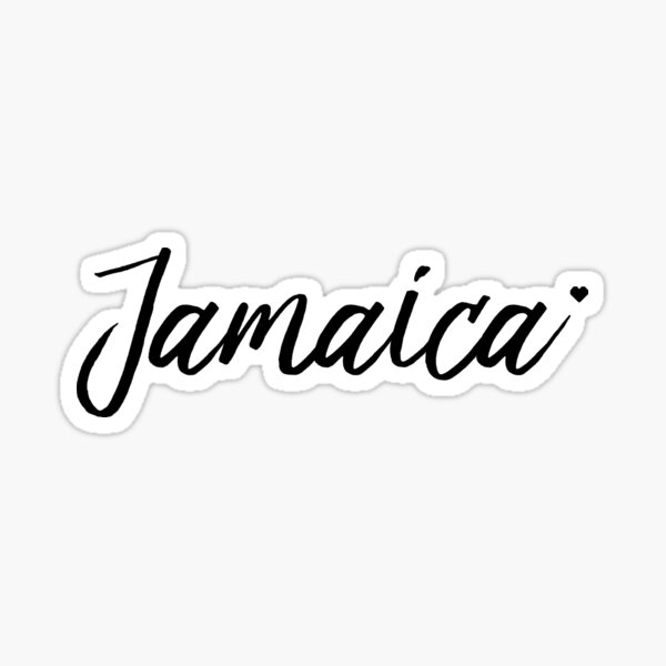 Jamaika in der Liebe Sticker