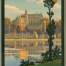 France Vintage Travel Advertisement Art Poster by jnniepce