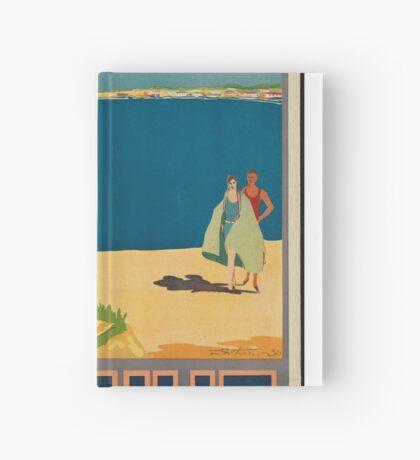 Carhue Vintage Travel Advertisement Art Poster Hardcover Journal