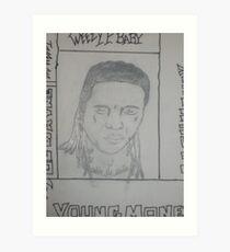 LIL WAYNES TATS Art Print