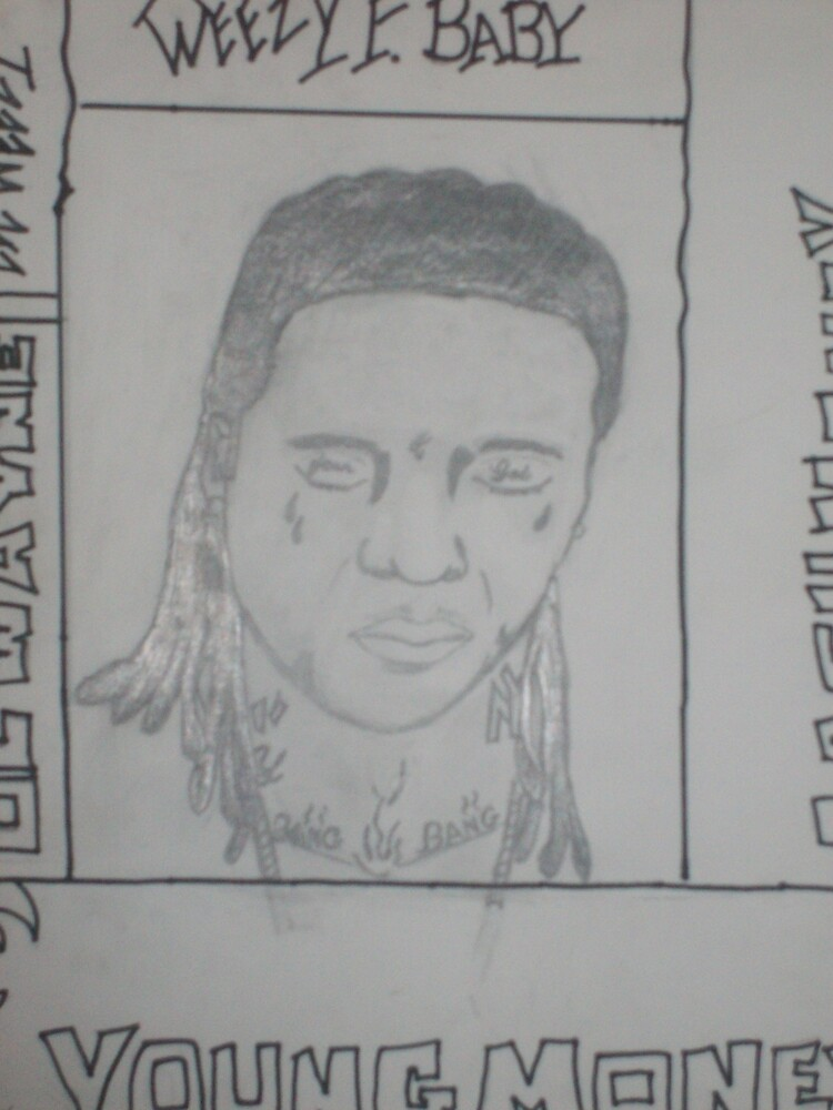 LIL WAYNES TATS by BUBBLE1652