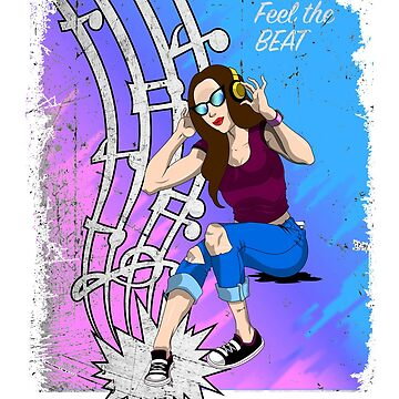 Feel the Beat by Inkwelldesign