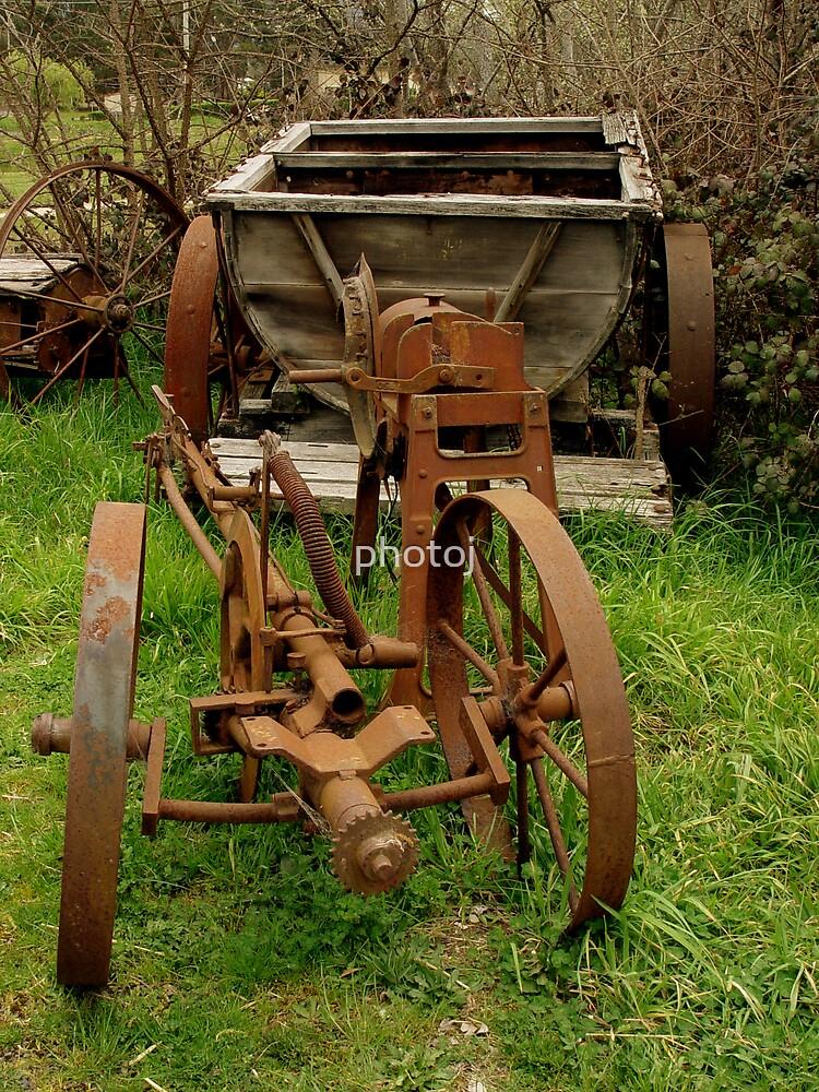 photoj,  'Rustty Farm Bits' by photoj