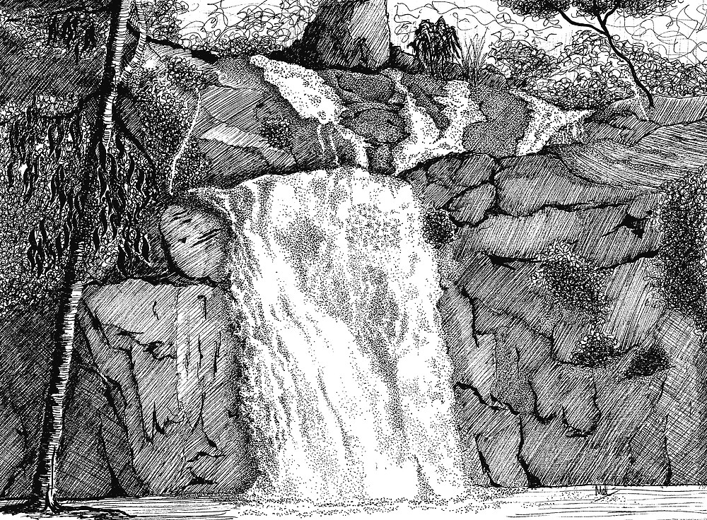 Cedar Creek Falls by Melf