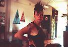 Minda Idiot upstairs Art Unit Sydney 1983 by Juilee  Pryor