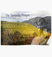 Little girl praying Poster