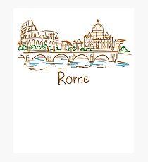 Rome Panorama Photographic Print