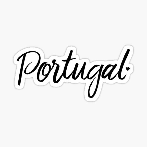 Portugal amoureux Sticker