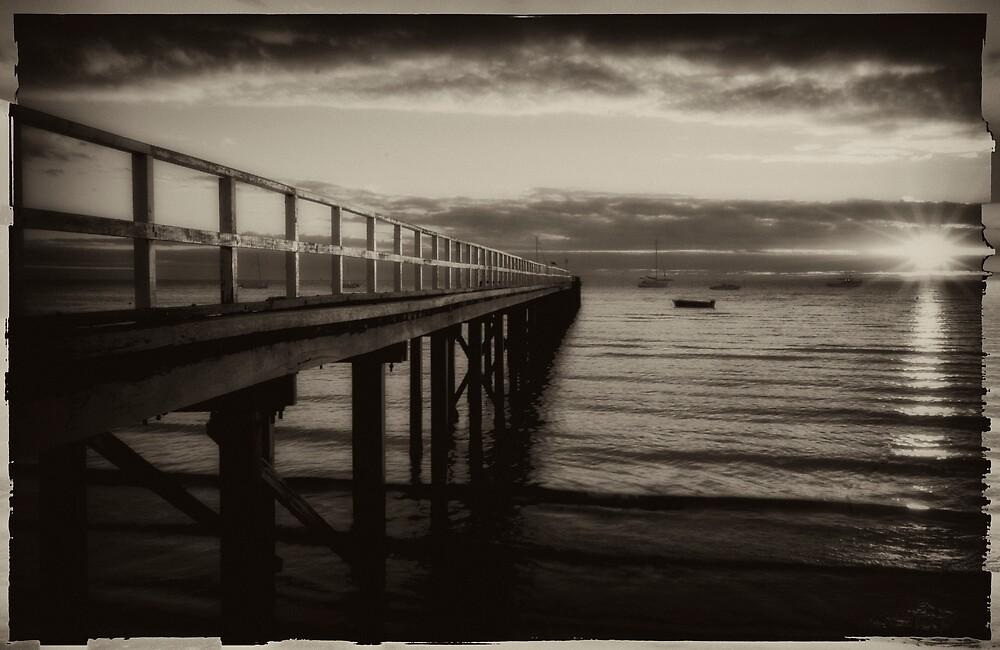 Vintage Pier 11 by Sue Wickham