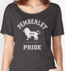 Camiseta ancha para mujer Pemberley Pride - Equipo Darcy - Orgullo y prejuicio