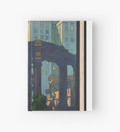 Chicago Vintage Travel Advertisement Art Poster Hardcover Journal