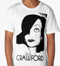 Joan Crawford Contrast Art Long T-Shirt