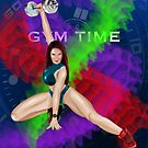 Gym Time Fitness Series by annthillr