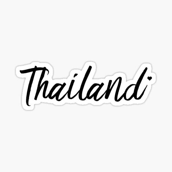 Thailand In Love Sticker