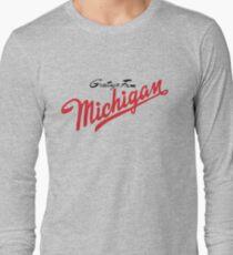 Sufjan stevens t shirts redbubble greetings from michigan minimalist long sleeve t shirt 2984 sufjan stevens m4hsunfo
