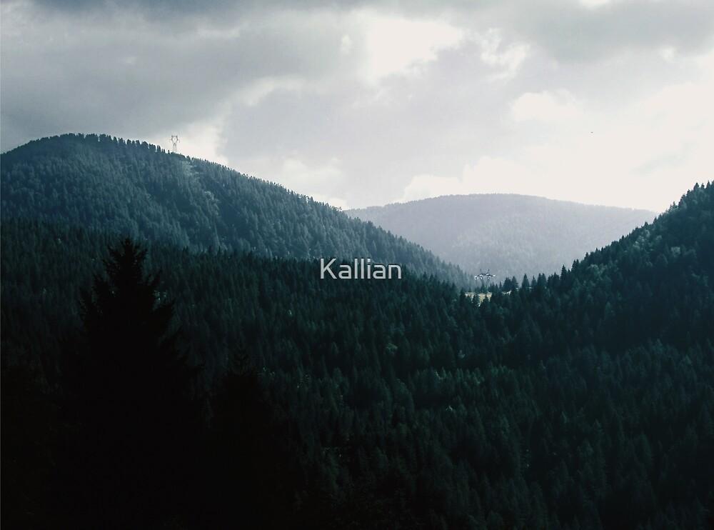 Mountains by Kallian