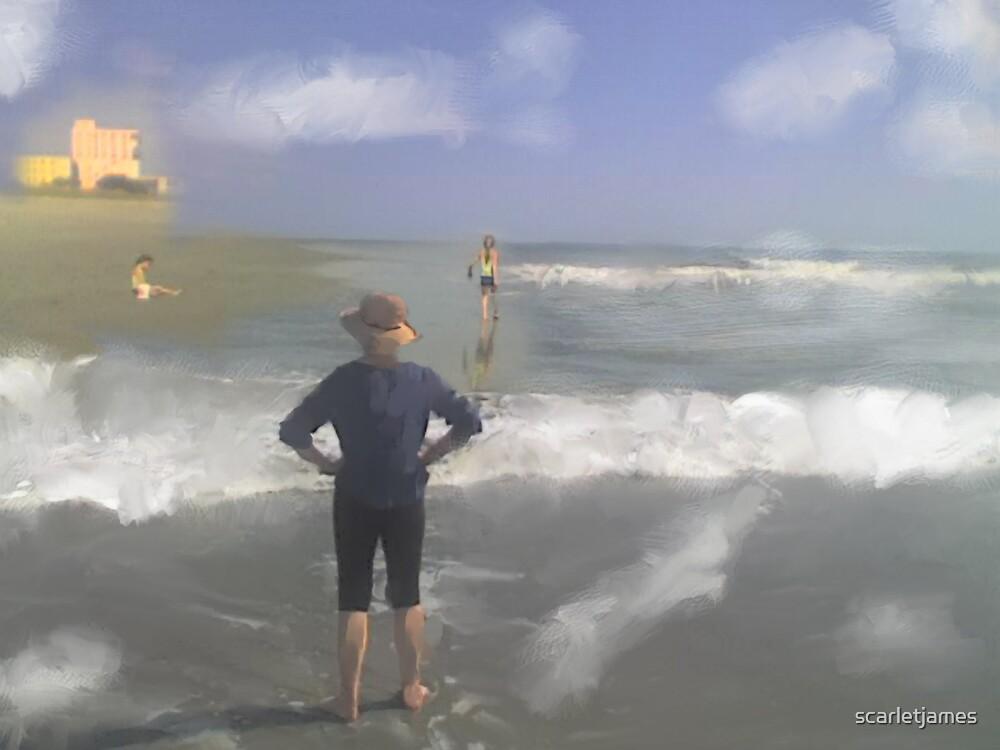 Cocoa Beach Goodbye by scarletjames
