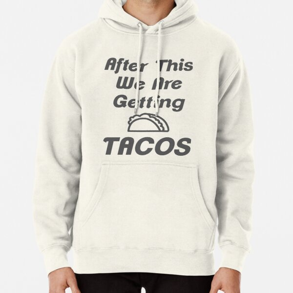 Sanda Tacos and Cervezas Mens Hooded Sweatshirt