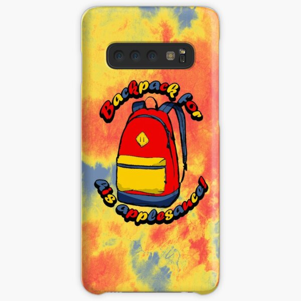 backpack for his applesauce Samsung Galaxy Snap Case