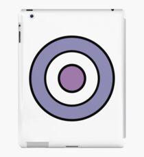 Purple Bullseye iPad Case/Skin