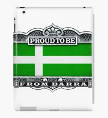 Proud To Be From Barra iPad Case/Skin