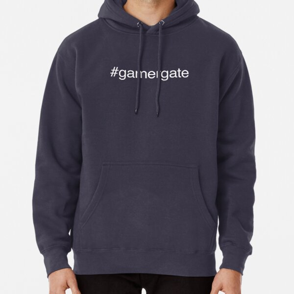 GamerGate Simple White Pullover Hoodie