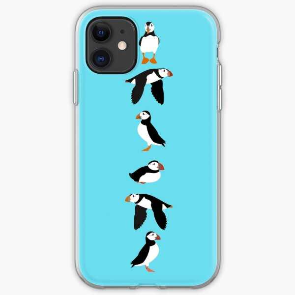 Puffins! iPhone Soft Case
