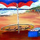 Surf Maui.....'69 by WhiteDove Studio kj gordon
