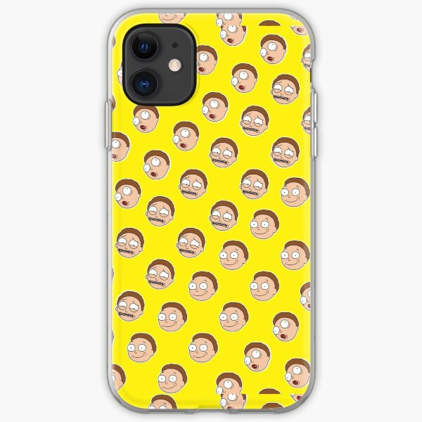 Mortified - A perfect Morty Pattern iPhone Soft Case