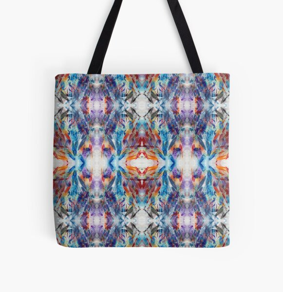 Crystal Prism Reflecting Light All Over Print Tote Bag