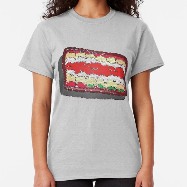 Tub of Lasagna rolls- stained glass Classic T-Shirt
