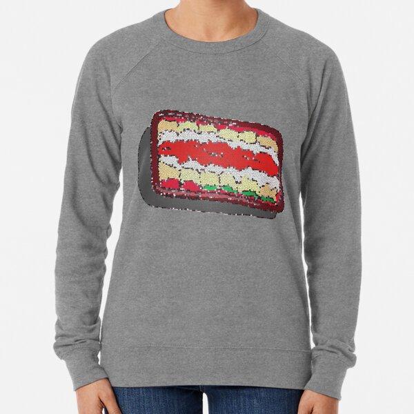 Tub of Lasagna rolls- stained glass Lightweight Sweatshirt